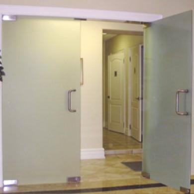 Vestibules, Partitions and Entrances
